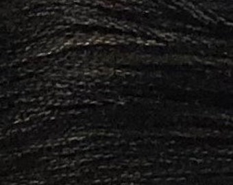 Weeks Dye Works, Onyx, WDW-1304, 5 YARD Skein, Hand Dyed Cotton, Embroidery Floss, Counted Cross Stitch, Embroidery, PunchNeedle