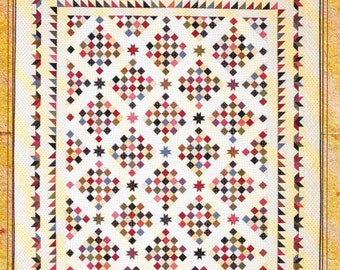 Quilt Pattern, Love Worn Quilt, Civil War, Patchwork Quilt, Heartspun Quilts, Vintage Stitches Patterns, Pam Buda, PATTERN ONLY