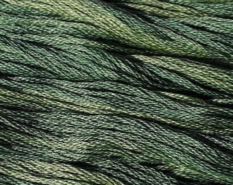 Classic Colorworks, Four Leaf Clover, CCT-195, 5 YARD Skein, Hand Dyed Cotton, Embroidery Floss, Counted Cross Stitch,Hand Embroidery Thread