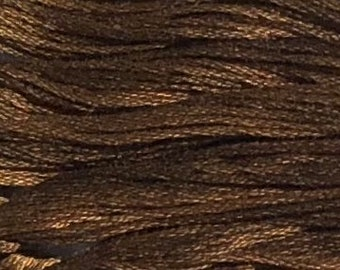Weeks Dye Works, Havana, WDW-1230, 5 YARD Skein, Hand Dyed Cotton, Embroidery Floss, Counted Cross Stitch, Embroidery, PunchNeedle