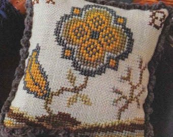 Counted Cross Stitch, Cross Stitch Pattern, Fragments in Time, 2017 No 6, Elizabethan Crewelwork, Summer House Stitches Workes, PATTERN ONLY