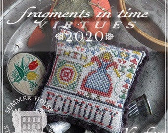 Counted Cross Stitch Pattern, Fragments in Time 2020, No 4 Economy, Virtues Series, Quilter, Summer House Stitches Workes, PATTERN ONLY