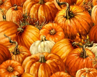 Quilt Fabric, Pumpkin Patch, Pumpkin Fabric, Fall Fabric, Autumn Quilt, 100% Cotton, Quilters Cotton, Dona Gelsinger, Timeless Treasures