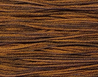 Weeks Dye Works, Swiss Chocolate, WDW-1237, 5 YARD Skein, Hand Dyed Cotton, Embroidery Floss, Cross Stitch, Hand Embroidery, Punch Needle