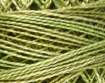 Valdani Thread, Size 8, O559, Valdani Perle Cotton, Watery Weed, Punch Needle, Embroidery, Penny Rugs, Primitive Stitching, Sewing Accessory