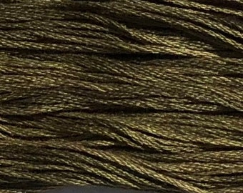Weeks Dye Works, Oscar, WDW-2197, 5 YARD Skein, Hand Dyed Cotton, Embroidery Floss, Counted Cross Stitch, Hand Embroidery, PunchNeedle