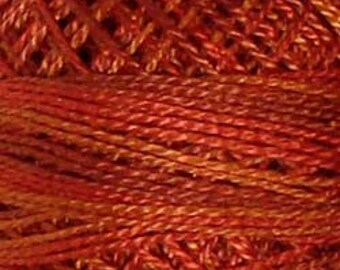 Valdani Thread, Size 8, O510, Perle Cotton, Terracotta Twist, Punch Needle, Embroidery, Penny Rugs, Primitive Stitching, Sewing Accessory