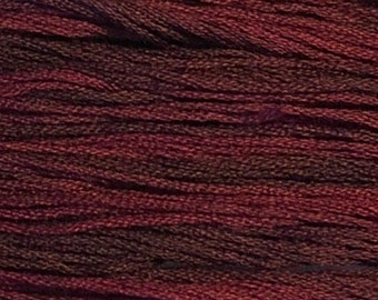 Classic Colorworks, Bing Cherry, CCT-151, 5 YARD Skein, Hand Dyed Cotton, Embroidery Floss, Counted Cross Stitch, Hand Embroidery Thread