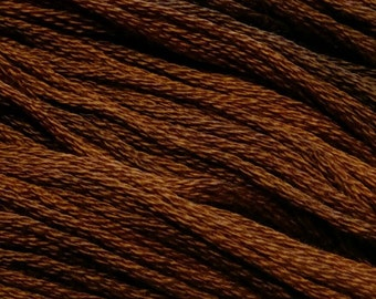Gentle Art, Sampler Threads, Nutmeg, #0560, 10 YARD Skein, Embroidery Floss, Counted Cross Stitch, Hand Embroidery Thread