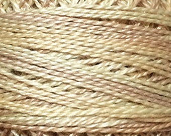 Valdani Thread, Size 12, O576, Weathered Hay, Perle Cotton, Embroidery, Penny Rugs, Punch Needle, Primitive Stitching, Sewing Accessory