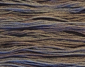 Classic Colorworks, Rod & Reel, CCT-116, 5 YARD Skein, Hand Dyed Cotton, Embroidery Floss, Counted Cross Stitch,Hand Embroidery Thread