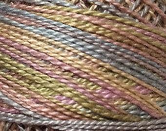 Valdani 3 Strand, O520, Cotton Floss, Vintage Pastels, Punch Needle, Embroidery, Penny Rugs, Wool Applique, Cross Stitch, Hardanger, Tatting