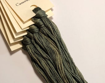 Classic Colorworks, Camouflage, CCT-063, 5 YARD Skein, Hand Dyed Cotton, Embroidery Floss, Counted Cross Stitch, Embroidery Thread