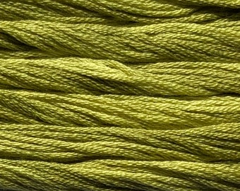 Classic Colorworks, Frog Legs, CCT-211, 5 YARD Skein, Hand Dyed Cotton, Embroidery Floss, Counted Cross Stitch, Embroidery Thread