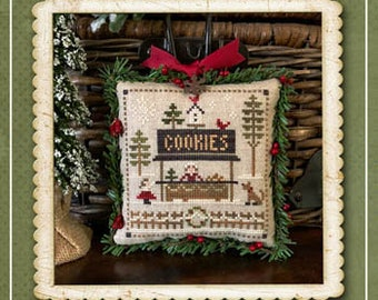 Counted Cross Stitch Pattern, Cookies, Jack Frost's Tree Farm, Christmas Tree Farm, Christmas, Little House Needleworks, PATTERN ONLY
