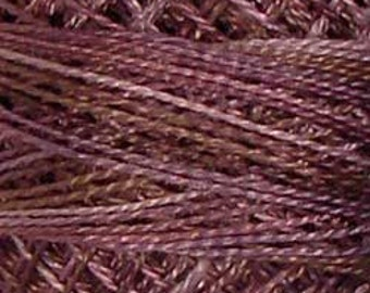 Valdani Thread, Size 8, P10, Valdani Perle Cotton, Antique Violet, Embroidery Thread, Punch Needle, Embroidery, Penny Rugs, Sewing Accessory