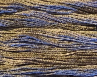 Gentle Art, Simply Shaker Threads,Misty Harbor,#7102, 10 YARD Skein, Embroidery Floss, Counted Cross Stitch, Hand Embroidery Thread