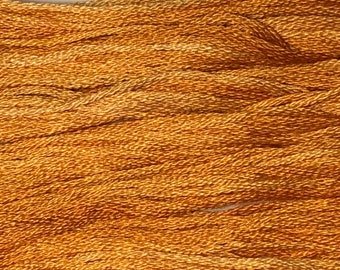 Classic Colorworks, Pumpkin Harvest, CCT-057, 5 YARD Skein, Hand Dyed Cotton, Embroidery Floss, Counted Cross Stitch, Hand Embroidery Thread
