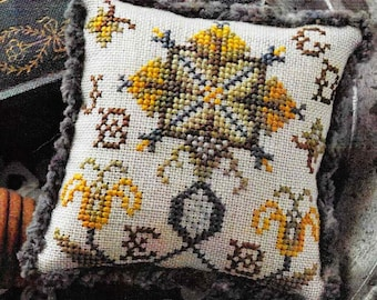 Counted Cross Stitch, Fragments in Time, 2017 No 2, Cross Stitch Pattern, Elizabethan Crewelwork, Summer House Stitches Workes, PATTERN ONLY