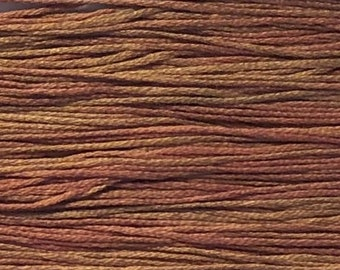 Weeks Dye Works, Pink Sand, WDW-2285, 5 YARD Skein, Hand Dyed Cotton, Embroidery Floss, Counted Cross Stitch, Embroidery, PunchNeedle