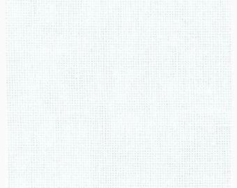 25 Count Linen, Dublin, White Linen, Counted Cross Stitch, Cross Stitch Fabric, Embroidery Fabric, Zweigart Linen, Needlepoint Fabric