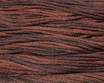 Weeks Dye Works, Kris Bon Bon, WDW1267, 5 YARD Skein, Hand Dyed Cotton, Embroidery Floss, Counted Cross Stitch, Hand Embroidery, PunchNeedle