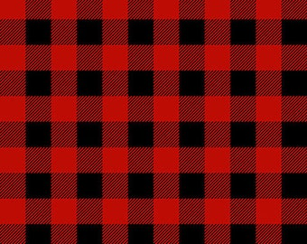Flannel Fabric, Flannel Gnomies,  Buffalo Check, Plaid Flannel, Red Flannel, Cotton Flannel, Quilting Flannel, Shelly Comiskey, Henry Glass