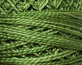 Valdani Thread, Size 8, O560, Perle Cotton, Morning Grass, Punch Needle, Embroidery, Penny Rugs, Primitive Stitching, Sewing Accessory