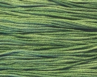 Weeks Dye Works, Emerald, WDW-2171, 5 YARD Skein, Embroidery Floss, Counted Cross Stitch, Embroidery, Punch Needle, Wool Applique, Tatting