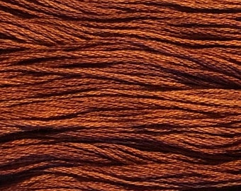 Weeks Dye Works, Carolina Cecil, WDW-2239a, 5 YARD Skein, Cotton Floss, Embroidery Floss, Counted Cross Stitch, Hand Embroidery, PunchNeedle