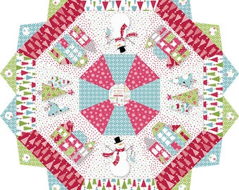 Quilt Pattern, Tis The Season, Christmas Tree Skirt, Christmas Decor, Christmas Quilt, Cherry Guidry, Cherry Blossoms Quilts, PATTERN ONLY