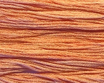 Classic Colorworks, Goldfish, CCT-015, 5 YARD Skein, Hand Dyed Cotton, Embroidery Floss, Counted Cross Stitch,Hand Embroidery Thread