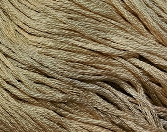 Gentle Art, Simply Shaker Threads, Parchment, #7027, 10 YARD Skein, Embroidery Floss, Counted Cross Stitch, Hand Embroidery Thread