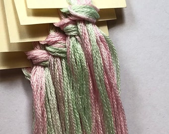 Classic Colorworks, Cottage Garden, CCT-064, 5 YARD Skein, Hand Dyed Cotton, Embroidery Floss, Cross Stitch, Hand Embroidery Thread