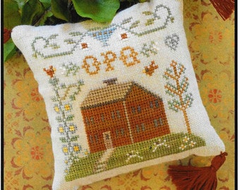 Counted Cross Stitch Pattern, ABC Samplers, #6, Cross Stitch Sampler, Little House Needleworks, Cross Stitch Pillow, Ornament, PATTERN ONLY