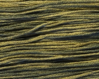 Weeks Dye Works, London Fog, WDW-1198, 5 YARD Skein, Hand Dyed Cotton, Embroidery Floss, Counted Cross Stitch, Embroidery, PunchNeedle