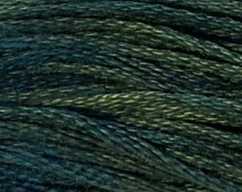 Weeks Dye Works, Cadet, WDW-1284, 5 YARD Skein, Cotton Floss, Embroidery Floss, Counted Cross Stitch, Hand Embroidery, PunchNeedle