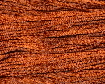 Weeks Dye Works, Sweet Potato, WDW-2238, 5 YARD Skein, Cotton Floss, Embroidery Floss, Counted Cross Stitch, Hand Embroidery, PunchNeedle