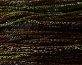 Classic Colorworks, English Ivy, CCT-179, 5 YARD Skein, Hand Dyed Cotton, Embroidery Floss, Counted Cross Stitch, Hand Embroidery Thread