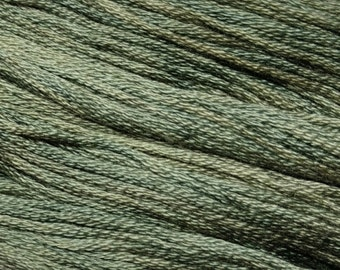 Gentle Art, Simply Shaker Threads, Mountain Mist, #7045, 10 YARD Skein, Embroidery Floss, Counted Cross Stitch, Hand Embroidery Thread