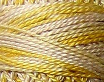Valdani Thread, Size 8, M67, Perle Cotton, Blurry Vanilla, Punch Needle, Embroidery, Penny Rugs, Primitive Stitching, Sewing Accessory
