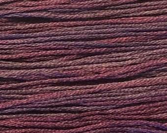 Weeks Dye Works, Concord, WDW-1318, 5 YARD Skein, Cotton Floss, Embroidery Floss, Counted Cross Stitch, Hand Embroidery, PunchNeedle