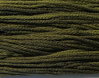 Classic Colorworks, Pine Needles, CCT-250, 5 YARD Skein, Hand Dyed Cotton, Embroidery Floss, Counted Cross Stitch, Embroidery Thread