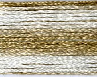 Cosmo, 6 Strand Cotton Floss, SE80-8038,  Seasons Variegated Embroidery Thread, Browns, Embroidery, Primitive Stitching, Sewing Accessory