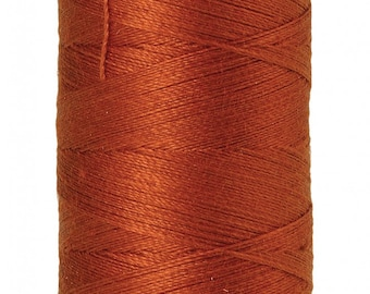 Mettler Thread, Copper, #0163, 60wt, Solid Cotton, Silk Finish Cotton, Embroidery Thread, Sewing Thread, Quilting Thread, Sewing Thread
