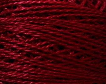 Valdani Size 12, 843, Old Rose Dark, Valdani Perle Cotton, Punch Needle, Embroidery, Penny Rugs, Primitive Stitching, Sewing Accessory,