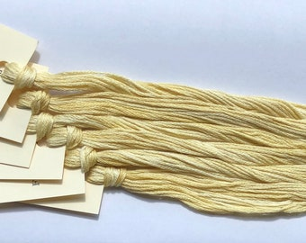 Classic Colorworks, Finley Gold, CCT-013, 5 YARD Skein, Hand Dyed Cotton, Embroidery Floss, Counted Cross Stitch, Embroidery Thread