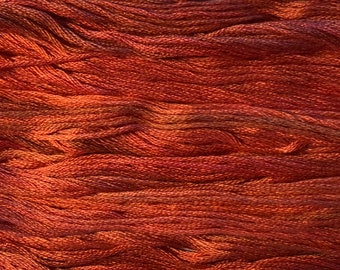 Gentle Art, Sampler Threads, Coral Reef, #0591, 10 YARD Skein, Embroidery Floss, Counted Cross Stitch, Hand Embroidery Thread