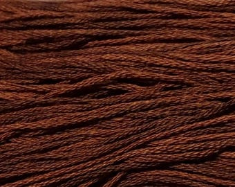Weeks Dye Works, Hazelnut, WDW-2237, 5 YARD Skein, Hand Dyed Cotton, Embroidery Floss, Counted Cross Stitch, Hand Embroidery, PunchNeedle