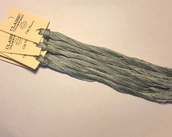 Classic Colorworks, Old Money, CCT-215, 5 YARD Skein, Hand Dyed Cotton, Embroidery Floss, Counted Cross Stitch,Hand Embroidery Thread